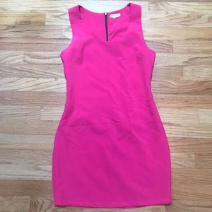Got pink dress with detailed back